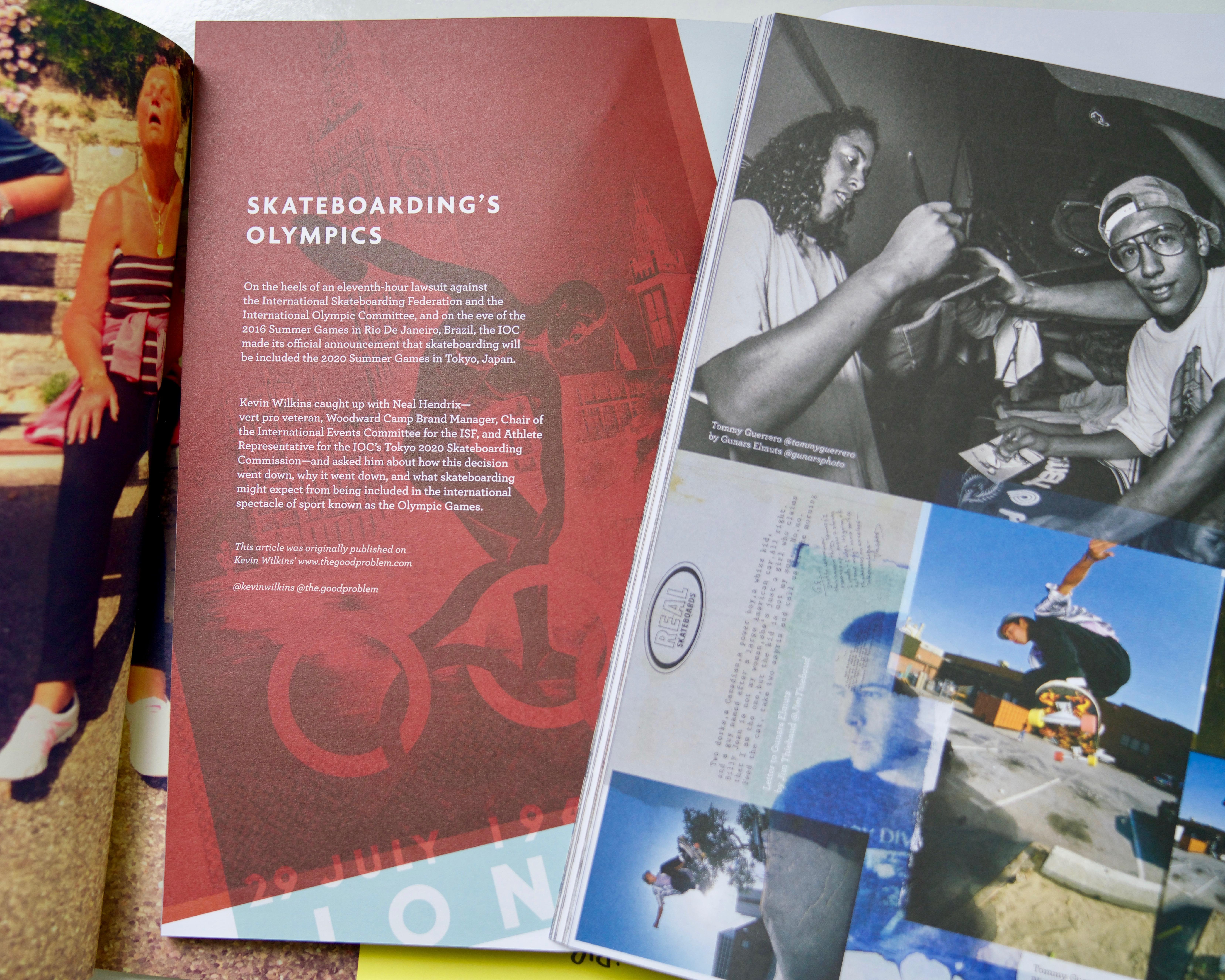 Interview Chris Parkinson / Same Old Magazine – bmxweekly com